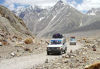 Jeep Safari from Shimla to Leh